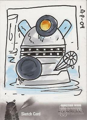 "Doctor Who Big Screen Additions Mono - Amy Pronovost ""Dalek"" Sketch Card"