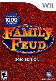 Family Feud 2010 Edition RE-SEALED Nintendo Wii AND WII U GAME 2K10 10
