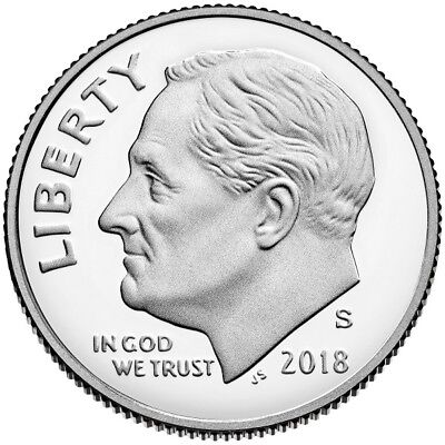 2018-S Clad Proof Roosevelt Dime - All Proofs On Sale