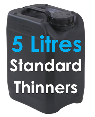 5 Litres Standard Thinners Spray Gun Parts Cleaner Cellulose Paint Thinner 5L