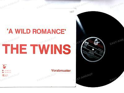 The Twins - A Wild Romance GER LP 1983 Advance Promocover Rare Synthpop /4