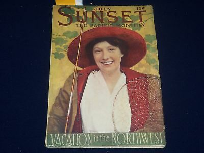 1913 July Sunset Magazine - Coca-Cola Advertisement - Sp 2575