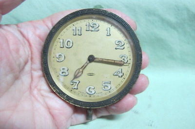 Vintage Swiss 8 Day Car Clock