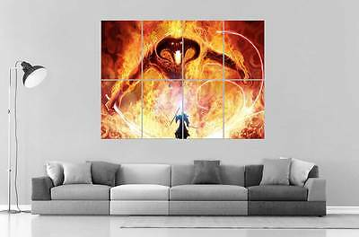 Balrog Gandalf Battle Lord of the Rings Lords of Rings Poster Format A0