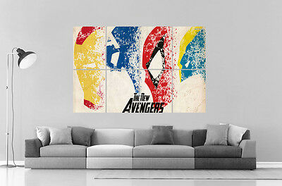 New Avengers Comics Super Hero Characters Wall Poster Great Format A0 Print