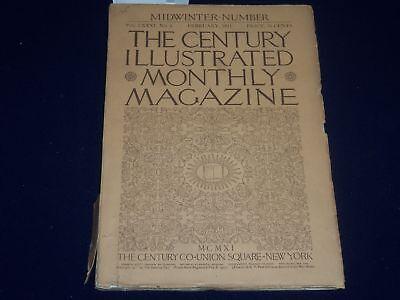 1911 February The Century Magazine - Sixpence By Maxfield Parrish - Sp 2588