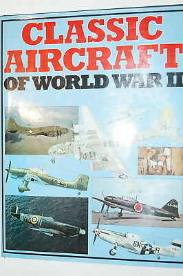 WW2 US British German Canadian Classic Aircraft Of WW2 Reference Book