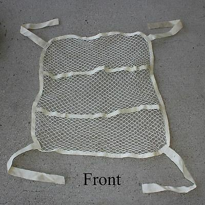 """Cessna 172 or Piper Airplane 27""""x27"""" Baggage Cargo Net  0500236-1 Good Used Cond"""