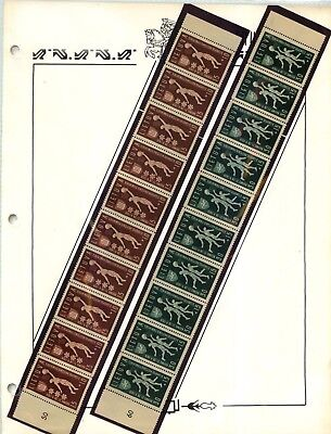 Lithuania 1939 SC B52 B53 MNH strip of 10 . d5373