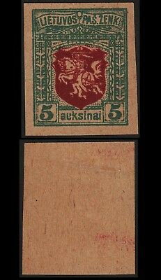 Lithuania 1919 SC 39 mint proof . c8118