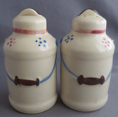 Vintage Shawnee Milk Can Salt Pepper Shakers
