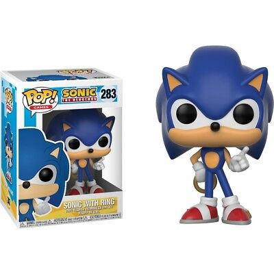 Funko - POP Games: Sonic - Sonic w/ Ring Brand New In Box