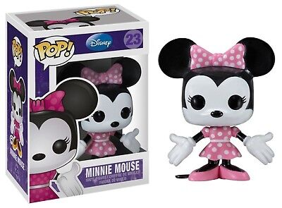 Funko - POP Disney  Series 2: Minnie Mouse Vinyl Action Figure New In Box