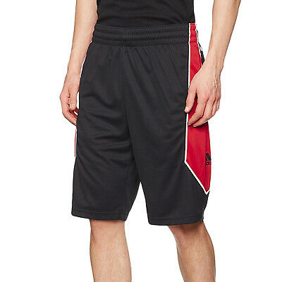 quality design a197a 452b9 adidas Performance Mens NBA Derrick Rose 773 Basketball Sports Shorts -  Black
