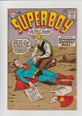 Superboy  #106 DC comic  1963 ad pg out stories complete Pete Ross