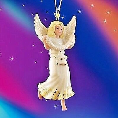 Lenox 2012 Stargazer Annual Christmas Angel Ornament NEW IN BOX!