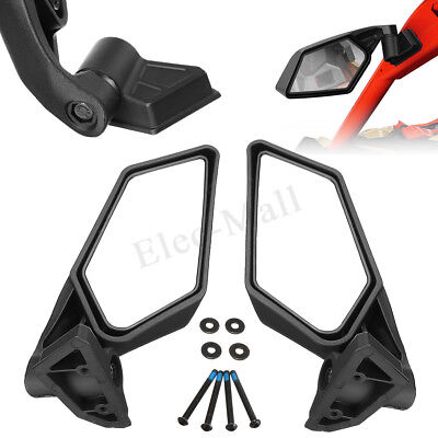 New Racing Side Mirrors For Can-Am Maverick X3 & MAX SSP UTV Off-road, 715002898