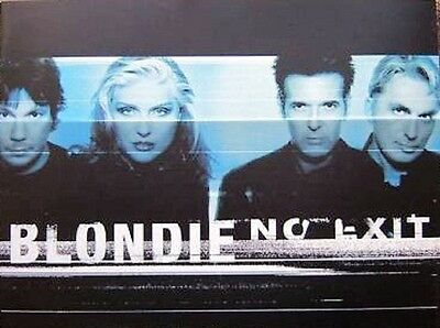 BLONDIE No Exit 1991 Tour Programme Book