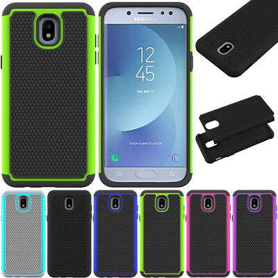 Shockproof Rubber Case Slim Hybrid Armor Cover For Samsung Galaxy J3 J5 Pro 2017