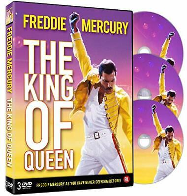 Dvd Freddie Mercury - The King Of Queen (3 Dvd) - The Ultimate Showman ....NUOVO
