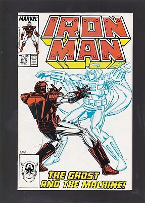 Iron Man #219 1st Appearance of The Ghost!