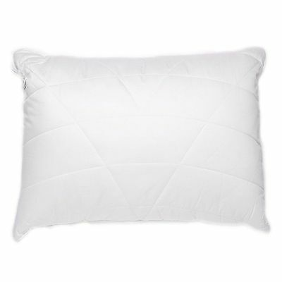 LUXURY QUILTED ANTI-BACTERIAL HYPO-ALLERGENIC BAMBOO PILLOW SOFT 50cm x 75cm NEW