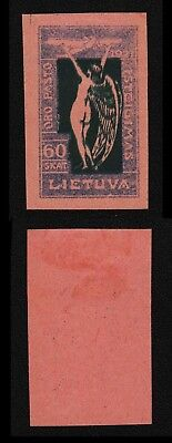 Lithuania 1921 SC C10 mint proof . c8229