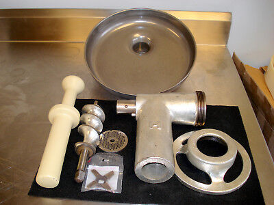 Hobart OEM  #12 meat grinder assembly. Very nice condition.