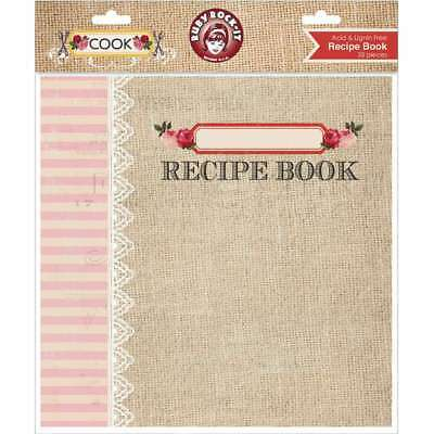 "Cook Recipe Book Album 8""X8""  499992827304"