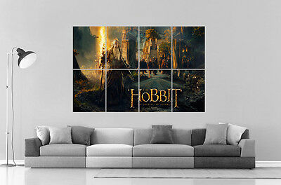 The Hobbit Wall Poster Great Format A0 Wide Print