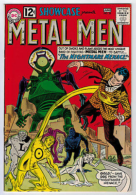 Showcase #38 7.0 2Nd Metal Men Higher Grade 1962 White Pages