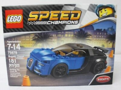 LEGO 75878 Speed Champions Bugatti Chiron 181pcs New Free Shipping