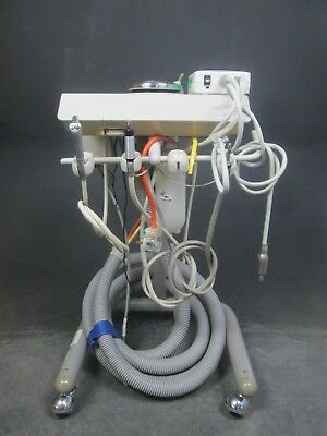 Adec 2562 Dental Mobile Delivery Cart w/ 2 Handpiece Connections
