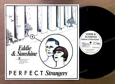 Eddie & Sunshine - Perfect Strangers NL LP 1983 Synthpop Wave Survival Rec /3