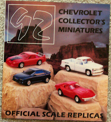 Advertisement ~ Promotional Models - Diecast ~ 1992 Chevrolet