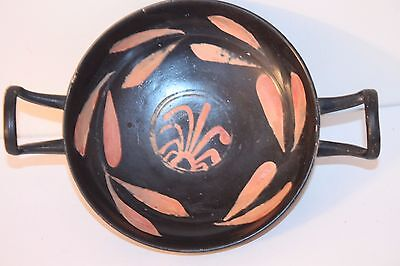 GOOD ANCIENT GREEK POTTERY XENON KYLIX 4th century BC MAGNA GRECIAN