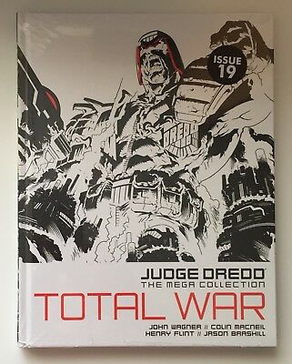 JUDGE DREDD Total War Issue 19 The Mega Collection New Sealed Hardback