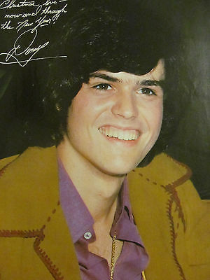 Donny Osmond, Osmonds Brothers, Full Page Vintage Pinup