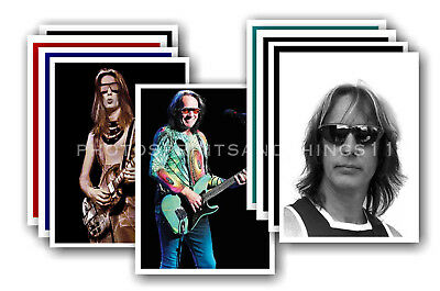 TODD RUNDGREN  - 100 PHOTO CARDS - collectable postcard set # 1