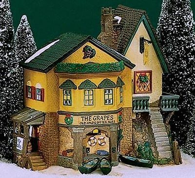 Dept 56 Dickens Village ~ The Grapes Inn ~ Mint In Box 57534