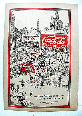 "1920 May ""--When ""delicious & Refreshing"" Mean The Most"" People At Circus Parade"