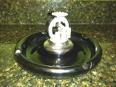 Old AUTOMATIC SPRINKLER CORPORATION OF AMERICA Advertising Ashtray Tray