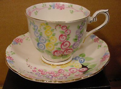 Royal Albert Pattern 2475 Teacup and Saucer Made in England