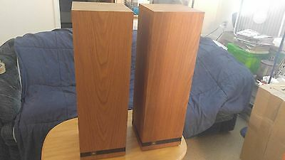 """Nice Pair Of Vintage 1988 JBL S-1 Tower Speaker / Subwoofers USA Made 32"""" Tall"""