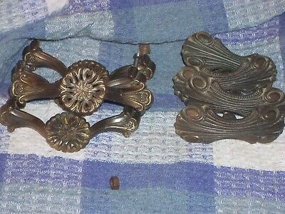 Antique Brass Cabinet Handles Two Sets Of 4