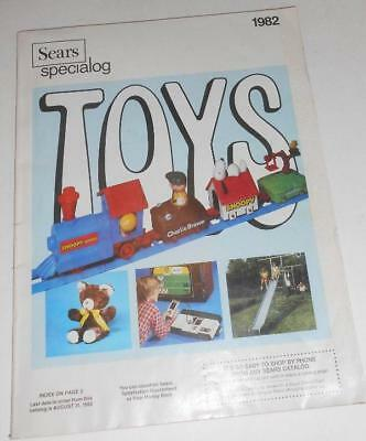 1982 Sears Wish Book SPECIALOG vintage Catalog TOYS! 157 PAGES color!
