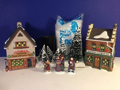 SET LOT Dept 56 Dickens Village START A TRADITION SET Complete & New w/ boxes