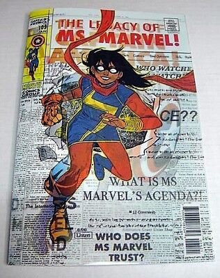 Ms Marvel #25 Homage To Kamala Khan 3D Lenticular Variant Marvel Legacy $3 Ship!