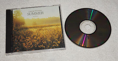CD : George Winston - Summer  (1991) Solo Piano - Made in Japan