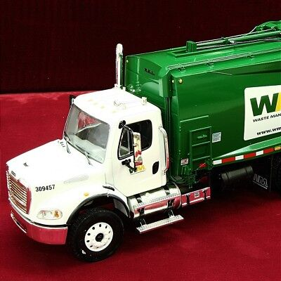 New - WASTE MANAGEMENT - FREIGHTLINER M2 Rear-Load GARBAGE TRUCK - FIRST GEAR